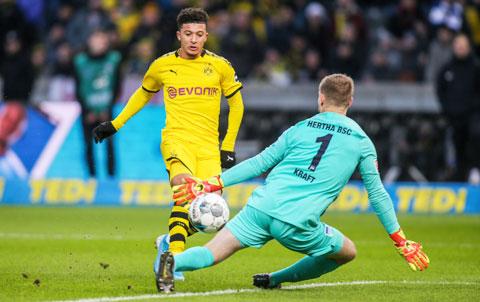 Sancho sẽ lại lập công giúp chủ nhà Dortmund vượt qua Hertha trong trận cầu khó khăn