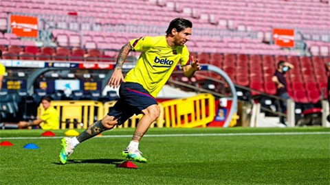 Messi mang tin vui cho Barca