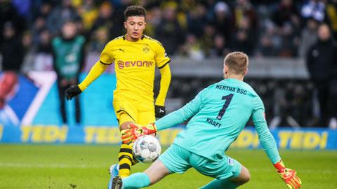 23h30 đêm nay, trực tiếp Dortmund vs Hertha