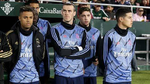 Real quyết giảm 54 triệu euro tiền lương của Bale, James & Mariano