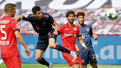 Lewandowski thiết lập siêu kỷ lục sau chiến thắng trước Leverkusen
