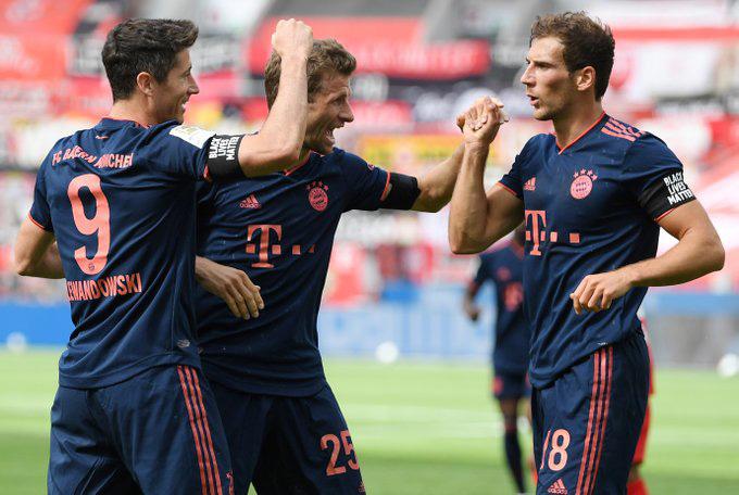 Nhưng Bayern đã có màn lội ngược dòng ấn tượng để thắng lại 4-2