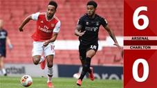 Arsenal 6-0 Charlton (giao hữu 2020)