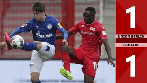 Union Berlin 1-1 Schalke (vòng 30 Bundesliga 2019/20)