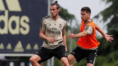 Bale vắng mặt khó hiểu trong buổi tập đối kháng của Real