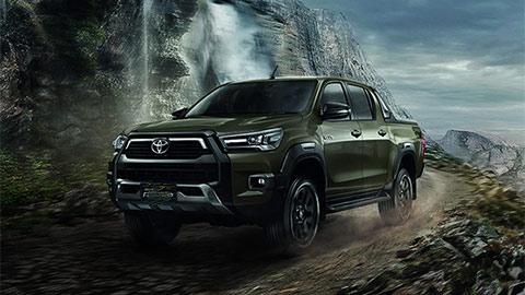 Toyota Hilux 2021 thiết kế hầm hố, nâng cấp động cơ, đấu Ford Ranger, Mitsubishi Triton