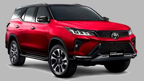 Toyota Fortuner 2021 ra mắt với thiết kế hầm hố, có nhiều cải tiến, giá mềm đấu Hyundai Santa Fe, Ford Everest