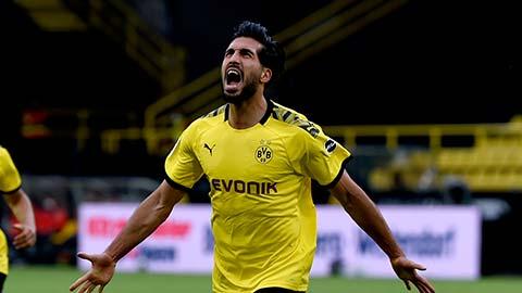 Choáng ngợp trước cách ghi bàn của Emre Can cho Dortmund