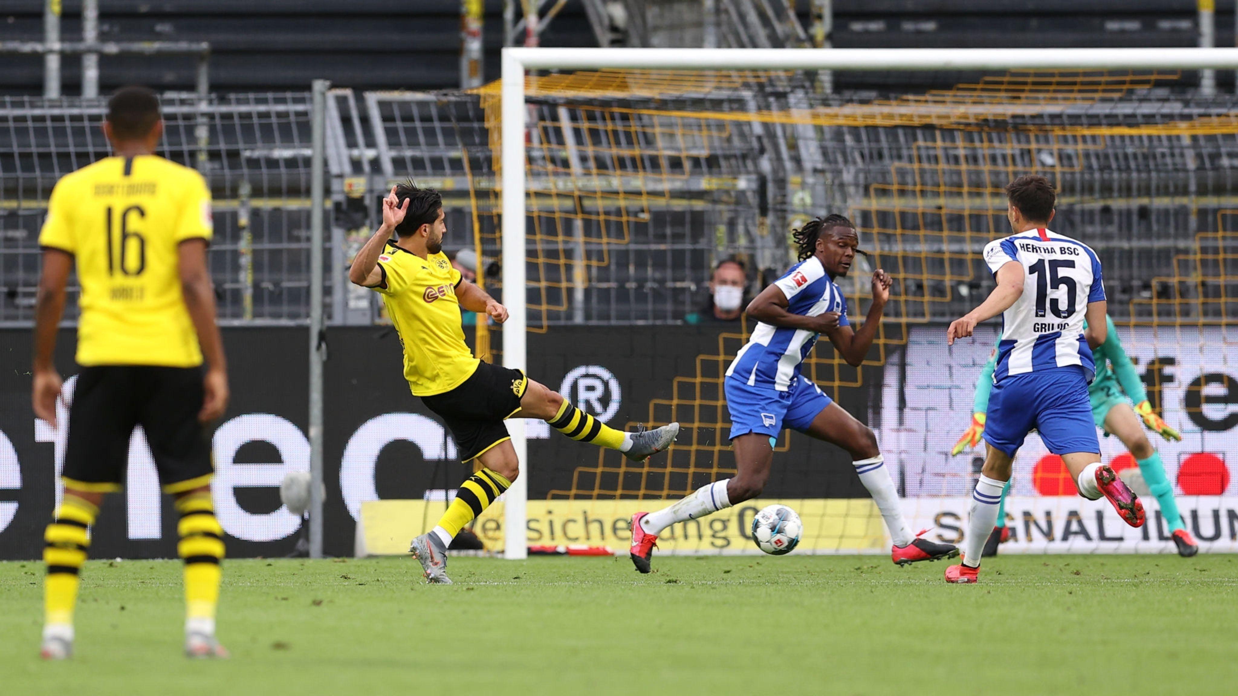 Can ghi bàn thắng quý như vàng cho Dortmund