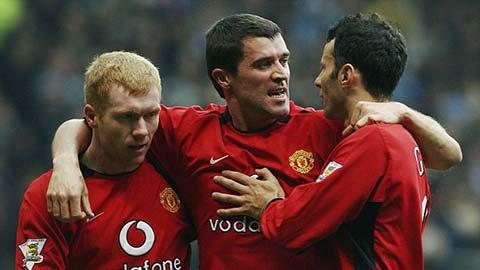 Roy Keane loại Scholes, Giggs, Rooney, Ferdinand ra khỏi đội hình của mình