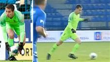 Thủ môn Việt kiều Filip Nguyễn lên tận giữa sân kiến tạo bàn thắng