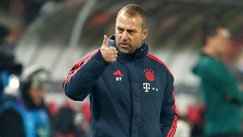 HLV Flick và các học trò ở Bayern đang có mùa bóng đầy ắp những kỳ tích