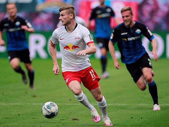 RB Leipzig lỡ cơ hội cắt đuôi Leverkusen và M'gladbach