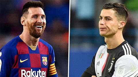 Messi luôn đứng trên Ronaldo trong suốt 10 năm qua