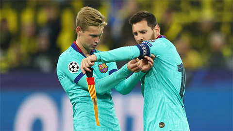 """De Jong: """"Nếu Messi đưa ra lời khuyên, bạn chỉ cần nghe theo anh ấy"""""""