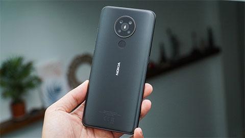 Nokia 5.3 đẹp long lanh với Snap 665, pin 4000mAh, camera 'chất' về VN, giá hơn 3 triệu đồng