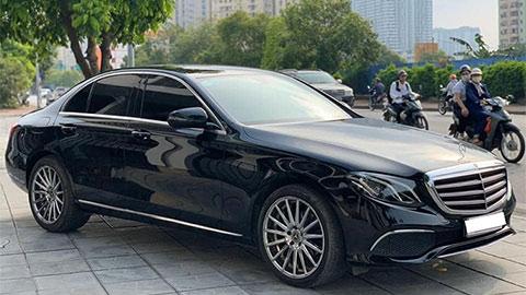 Sốc với Mercedes-Benz E200 chạy 2 năm mất giá 400 triệu đồng
