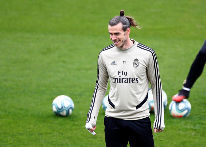Bale hoàn toàn sung mãn để ra sân trận gặp Eibar
