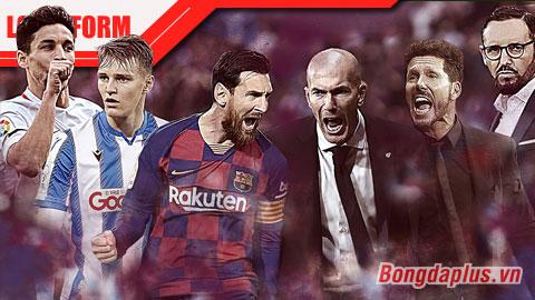 Chiến thuật La Liga 201920: Barca khủng bố, Real thủ chắc, Atletico mất tuyệt chiêu