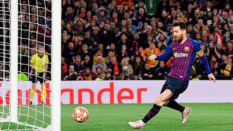 Messi đang trên đường giành ngôi Vua phá lưới La Liga lần thứ 7