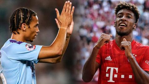Coman không lo lắng khi Sane tới Bayern