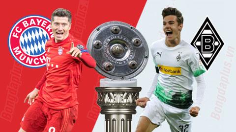 Nhận định bóng đá Bayern Munich vs M''Gladbach, 23h30 ngày 13/6