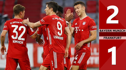 Bayern Munich 2-1 Frankfurt (bán kết Cúp quốc gia Đức 2019/20)