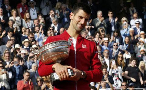 Djokovic đã có 3 chức vô địch US Open, nhưng Roland Garros thì mới chỉ có một lần vào năm 2016