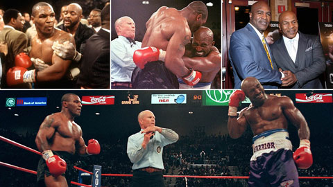 Evander Holyfield & khoảnh khắc tha thứ cho Mike Tyson