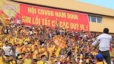 Lại lĩnh án phạt, khán giả Nam Định khiến đội bóng mất oan 210 triệu