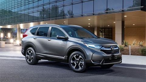 Honda CR-V giảm giá kịch sàn, đón xe lắp ráp 'đe nẹt' Hyundai Tucson, Mazda CX-5