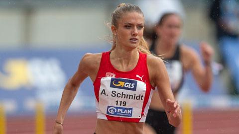 Alica Schmidt, 'thánh nữ' điền kinh gợi tình nhất thế giới