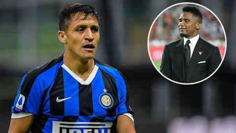 Etoo tin Sanchez chưa gặp may và sẽ thành công tại Inter trong tương lai