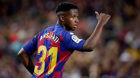 M.U dụ dỗ Fati bằng mức lương cao gấp ba ở Barca