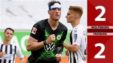 Wolfsburg 2-2 Freiburg (Vòng 31 Bundesliga 2019/20)