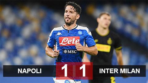 Napoli 1-1 Inter: Napoli hẹn Juventus ở chung kết