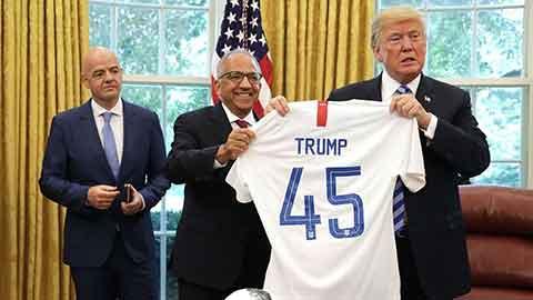 Tổng thống Donald Trump thề sẽ không xem bóng đá Mỹ