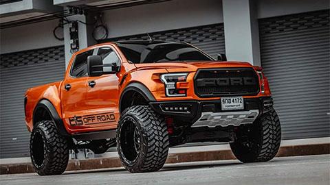 Choáng với Ford Ranger độ thành F-150 Raptor kiểu dáng siêu hầm hố, khiến fan phát cuồng