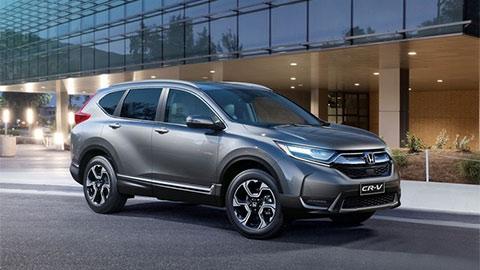 Honda CR-V vượt mặt Mazda CX-5 và Hyundai Tuson giá mềm, giành lại ngôi vương