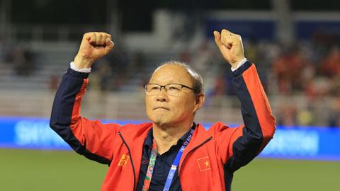 Ông Park Hang Seo vào top HLV xuất sắc nhất châu Á