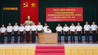 Lữ đoàn 147 phát động thi đua '20 ngày hành động kiểu mẫu'