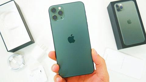 Hình ảnh được cho là phiên bản màu xanh của iPhone 12 Pro