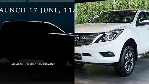 Mazda BT-50 2021 siêu hầm hố, giá mềm, nhá hàng trước ngày ra mắt, đe Ford Ranger, Mitsubishi Triton