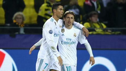 Modric: Là một con người, Ronaldo xứng đáng điểm 10