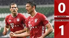 W. Bremen 0-1 Bayern Munich (vòng 32 Bundesliga 2019/20)
