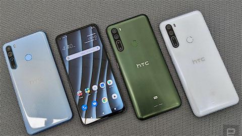 HTC U20 5G ra mắt với thiết kế đẹp mắt, chạy Snap 765G, 8GB RAM, pin 5000mAh giá 'ngon'