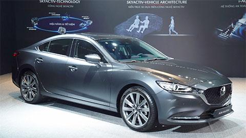 Mazda 6 2020 đẹp mê ly ra mắt tại VN, chưa có giá bán, đấu Toyota Camry, Honda Accord