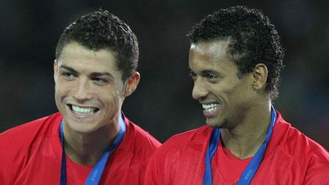Nani: 'Ronaldo sẽ giải nghệ ở MLS'