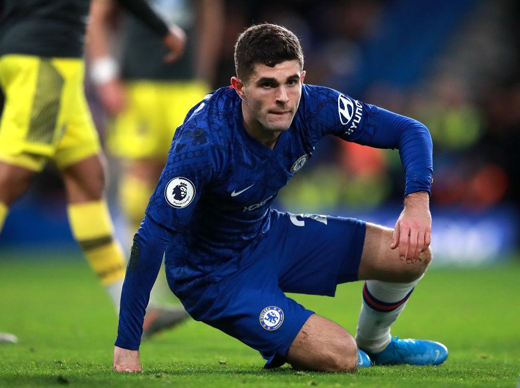 Mùa giải đầu tiên ở Chelsea, Pulisic đã dính chấn thương nặng