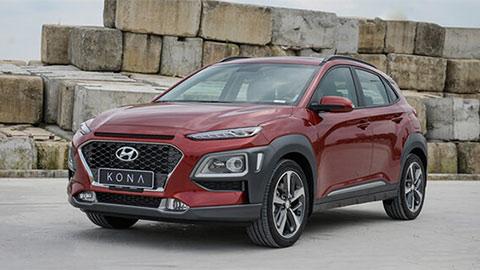 Hyundai Kona - đối thủ của Ford EcoSport, Honda HR-V có giá lăn bánh ra sao trong tháng 6?